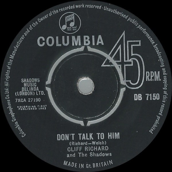 Don't Talk To Him / Say You're Mine