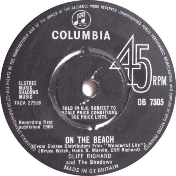 On The Beach / A Matter Of Moments