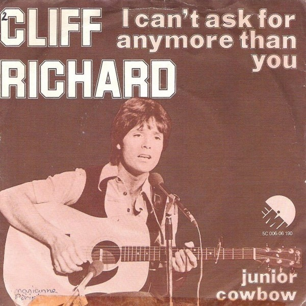 I Can't Ask For Any More Than You / Junior Cowboy