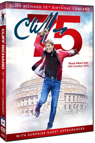 Cliff Richard 75th Birthday Concert at The Royal Albert Hall